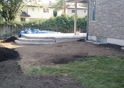 Adding private garden oasis to exposed corner lot