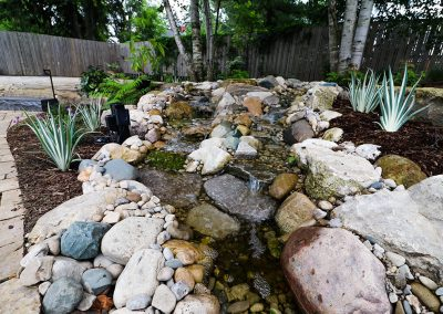 Pondless stream by A Touch of Dutch Landscaping