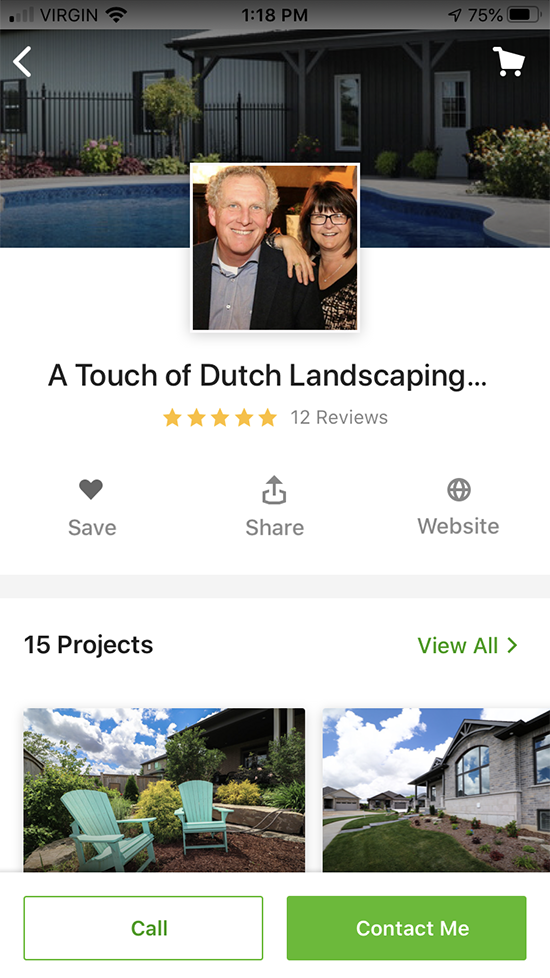 A Touch of Dutch Landscaping on Houzz tools apps platforms for planning and designing landscaping