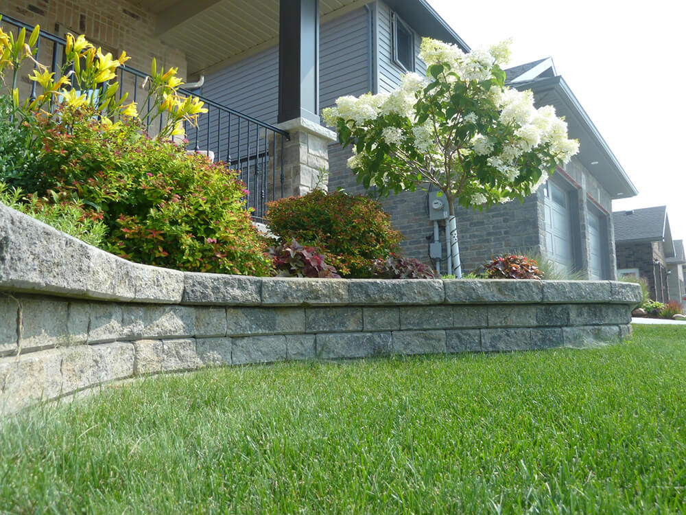 precast wall stone retaining walls