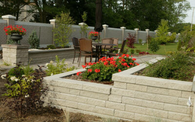 Precast and Natural Stone Retaining Walls